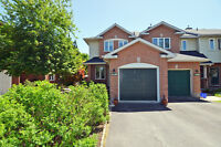 3 bedrooms, 2 bathroom END UNIT on LARGE LOT VERY PRIVATE