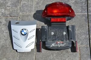 BMW F650GS tail lamp & trunk cover with lock