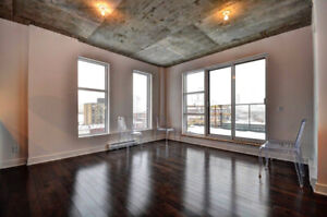 Condo meublé à louer - Penthouse for rent - Downtown Montreal