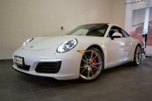 2017 Porsche 911 Carrera 4S Coupe PDK | Lane Asst | Glass Roof |