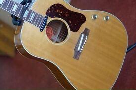 2002 Gibson Montana John Lennon J-160E Limited Edition Peace Acoustic-Electric Guitar