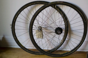 Dura-Ace bike Wheels - Roues de velo Dura-Ace