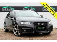 2011 11 AUDI A3 2.0 SPORTBACK TDI S LINE SPECIAL EDITION 5D 138 BHP DIESEL