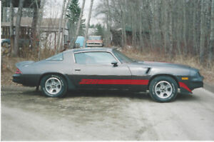1980 Chevrolet Camaro Z28 Coupe (2 door)