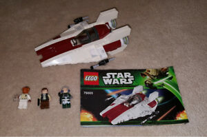 Complete Lego Set - A-wing Starfighter (75003)
