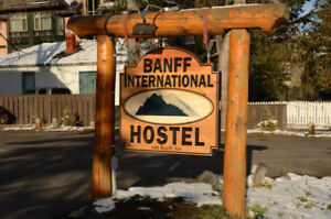 Weekly Rate Available at Banff International Hostel!