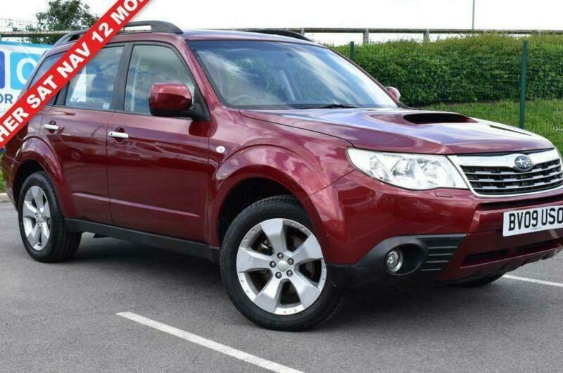 Subaru Diesel Usa >> 2009 09 Subaru Forester 2 0 D Xsn 5d 147 Bhp Diesel In Burnley Lancashire Gumtree