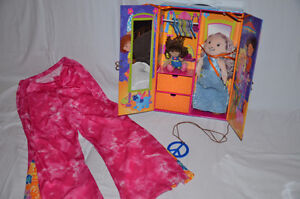 Groovy Girl - Carrying Case and Lifesize Outfit~