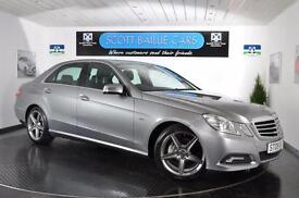 2009 MERCEDES E-CLASS E350 CGI BLUEEFFICIENCY AVANTGARDE SALOON PETROL