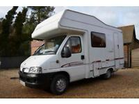 2005 4-berth Elddis Autoquest 100 motorhome SOLD, SIMILAR REQUIRED