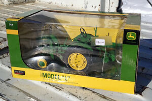"1937 JOHN DEERE MODEL ""L"" WITH BOTTOM PLOW TOY - NEW IN BOX"