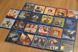 22 Blu Ray lot - $5 each or make a deal for the whole lot