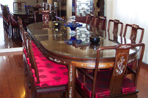 Dining Table Rosewood For 10