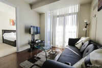 DISCOUNTED 2 BR FULLY FURNISHED CONDOS NEAR SQUARE ONE