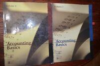 accounting basics volume 1 and 2