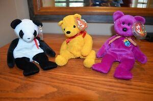Ty Beanie Babies *Retired & Rare* - Set of 6 Bears IV Sarnia Sarnia Area image 2