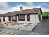 2 bedroom semi detached fully furnished house in Ellon to rent