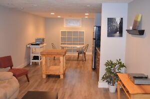 suite for rent in St. Albert furnished