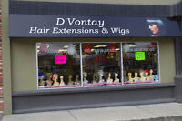 D'Vontay Hair Extensions and Wigs