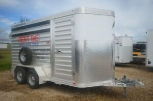 2013 Featherlite Trailers 6 1/2x14 Stock Combo Trailer
