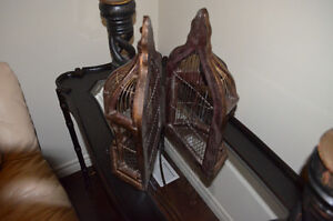 Handmade One of a kind ornamental bird cage! Gorgeous!