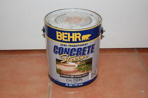 Behr Concrete Stain