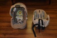 Graco baby car seat / Siège d'auto pour bébé