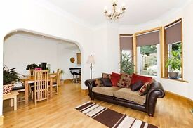 Spacious house with a big garden, short term rent possible. Central location.Part/Fully furnished