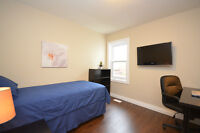 Air Conditioned Renovated furnished rooms to rent near Ottawa U