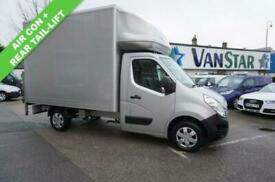 64 RENAULT MASTER 3.5T FWD 2.3 ML35DCI 125 LUTON ( AIR CON / TAIL LIFT )