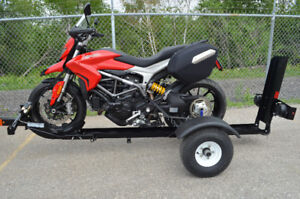 Stinger Folding Motorcycle Trailer with Free Shipping!