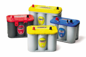 OPTIMA BATTERIES -- RED TOP, BLUE TOP, YELLOW TOP