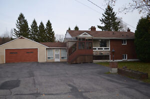 Brick Bungalow on 1 Acre Lot