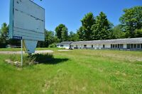 LAND VALUE ONLY! 2.1 ACRE ON Highway 15 Smiths Falls - OLD MOTEL