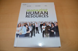 Managing Human Resources 6e (HRM 2600) [TEXTBOOK]