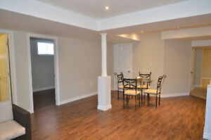 Basement apartment available for rent