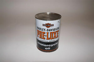 Harley Davidson Pre-Luxe Oil Can