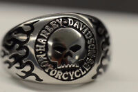 Bague Harley Davidson Willie Skull Ring