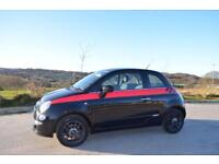 FIAT 500 1.4 LOUNGE, SUNROOF, 2011 61 PLATE