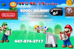 Durham Nintendo Wii Mod Service (Over 5000+ Games)