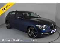2012 62 BMW 1 SERIES 1.6 116I SPORT 5D 135 BHP