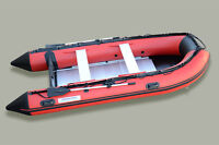 12.5 ft inflatable boat with aluminum floor HEAVY DUTY 1.2 mm