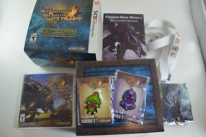 Monster Hunter 4 Ultimate Collector's Limited Edition 3DS