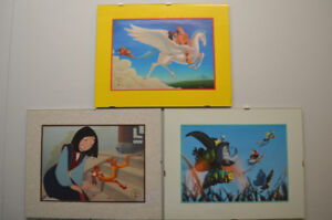 Disney Store - Official Lithographs - *1999* - FRAMED