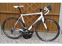 Cinelli experience, 105 groupset, medium frame racing bike..