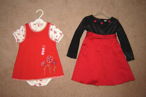 Girls Dresses and Clothes - sz 3, 3X, 3T, 4, 4T