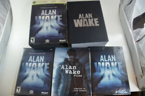 Allen Wake Collector's Limited Edition Xbox 360 COMPLETE