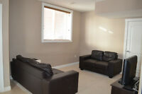 2 Bedroom Furnished Walk out Basement Suite