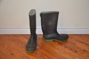 Rubber Boots, Hiking Boots- 3 DIFFERENT PAIRS