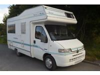1999 AUTOHOMES WAYFINDER EQUIPE 4 BERTH MOTORHOME FOR SALE